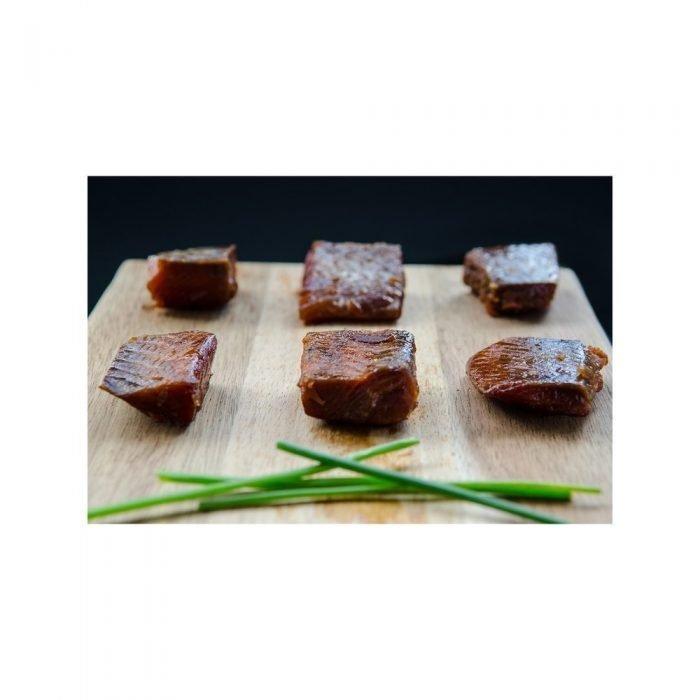 Wild Caught Canadian Salmon Maple Smoked Wild King Salmon Nuggets (Frozen)