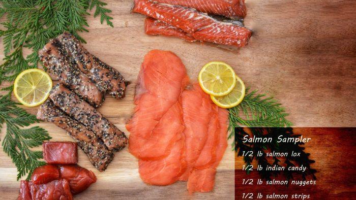 salmon sampler gift